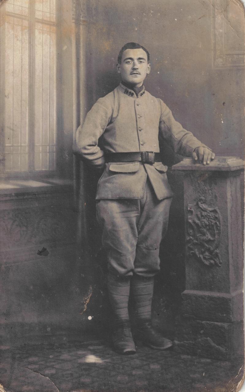 French Studio Portrait. Estimated Date: 1914/1918